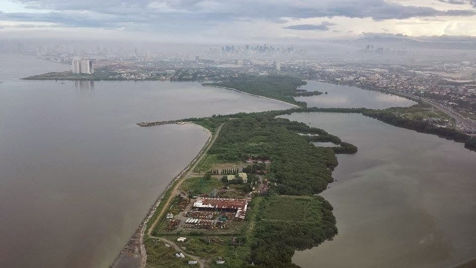 Aerial view of the Las Piñas-Parañaque Ramsar Site